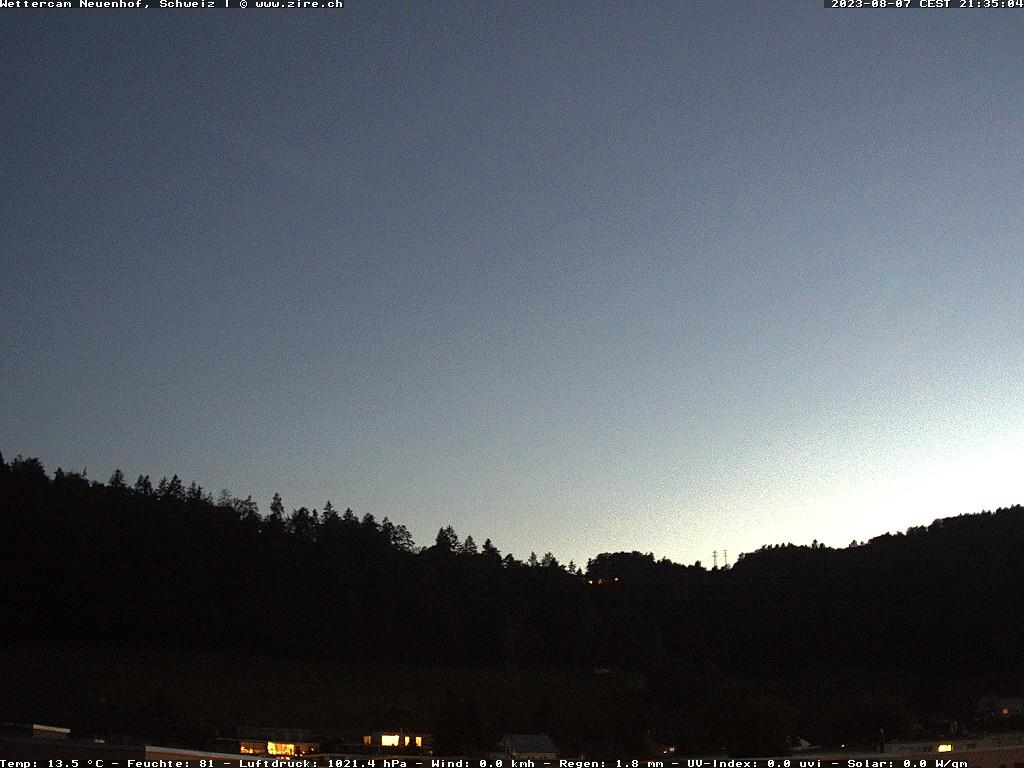 Paragliding Fluggebiet Europa Schweiz Zürich,Balderen (Üetliberg),Blick auf den Uetliberg, Wetterdaten vom Aufnahmeort (Zürich) nicht vom Gipfel